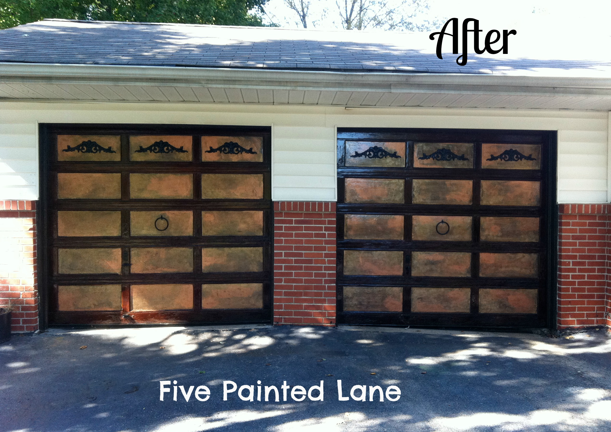 The Garage Door Endeavor Of The Long Hot Summer Five Painted Lane